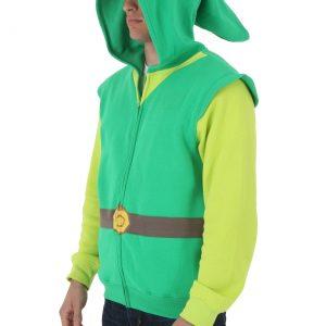 Mens Legend Of Zelda Costume Link Hoodie