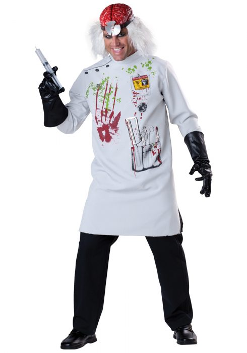 Mens Mad Scientist Costume
