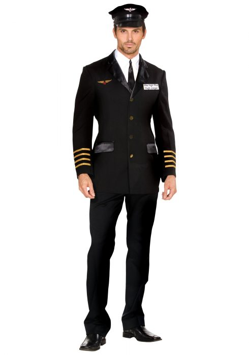 Men's Mile High Pilot Costume
