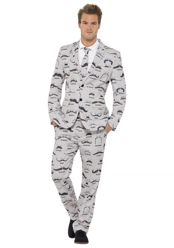 Men's Mustache Suit