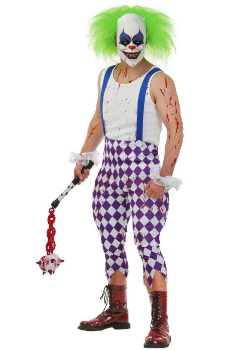Men's Nightmare Clown Costume