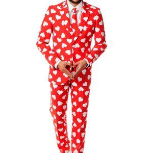 Mens OppoSuits Mr. Lover Heart Suit