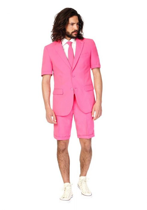 Men's OppoSuits Mr. Pink Summer Suit