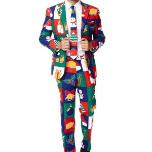 Men's OppoSuits Quilty Pleasure Holiday Suit