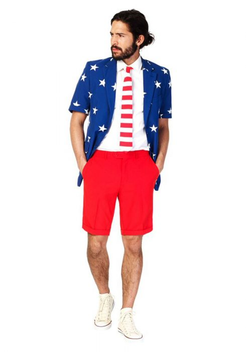 Men's OppoSuits Stars & Stripes Summer Suit