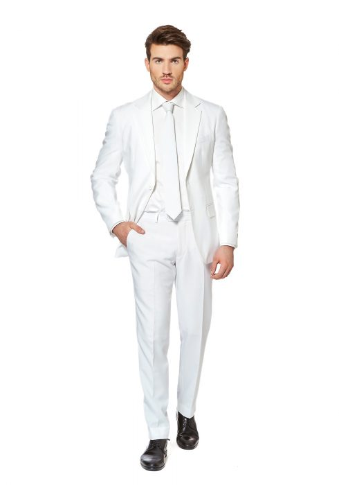 Men's OppoSuits White Knight Suit