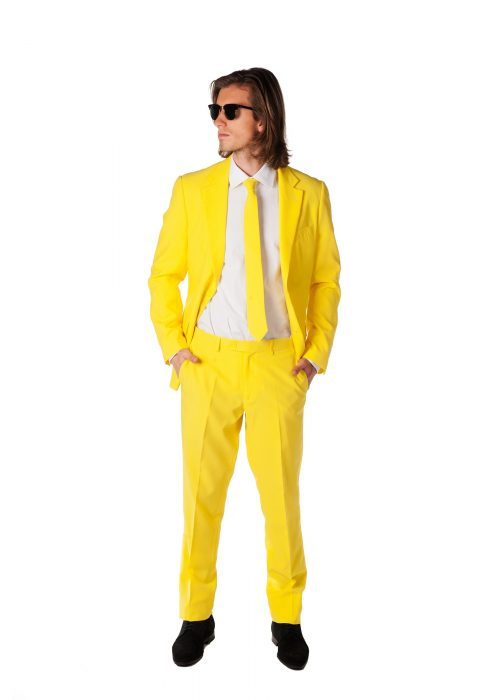 Men's OppoSuits Yellow Suit