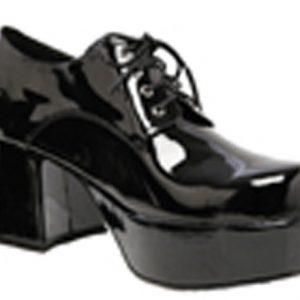 Men's Platform Shoes - Black