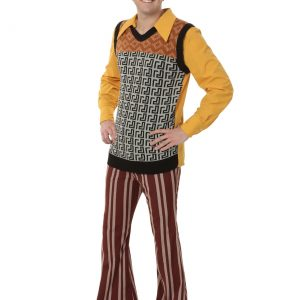 Men's Plus Size 70s Costume