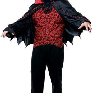 Men's Plus Size Count Costume