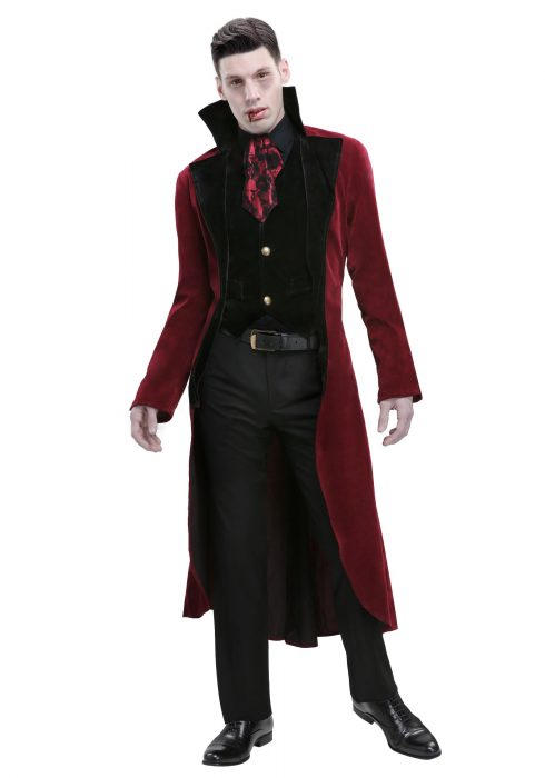Men's Plus Size Dreadful Vampire