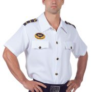 Men's Plus Size Pilot Shirt