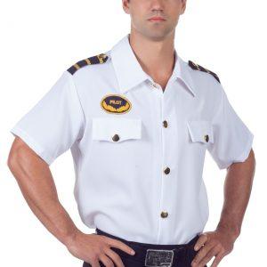 Men's Plus Size Pilot Shirt