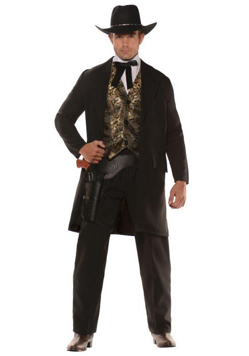 Men's Plus Size The Gambler Costume