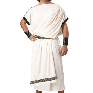 Men's Plus Size Toga Costume
