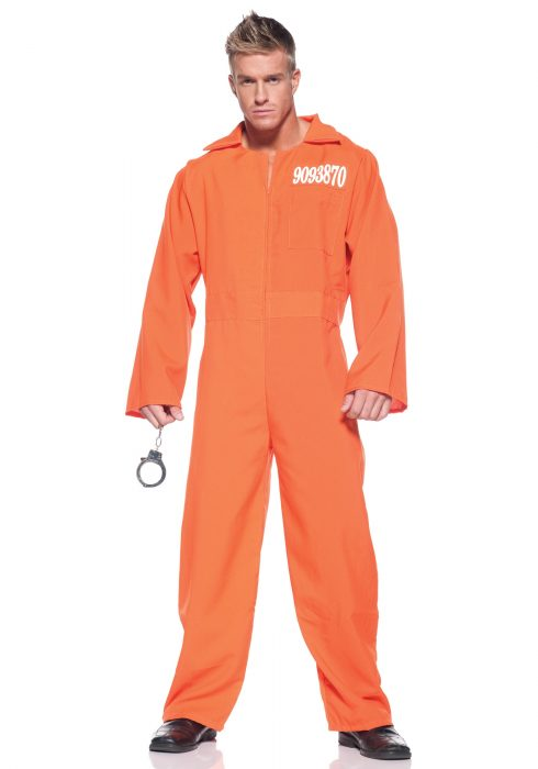 Men's Prison Jumpsuit