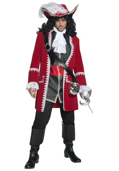 Mens Regal Pirate Captain Costume