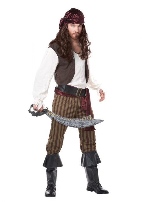 Men's Rogue Pirate Costume