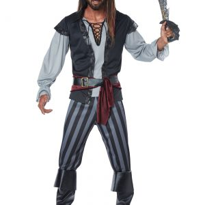 Mens Scallywag Pirate Costume