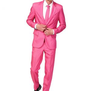 Men's SuitMeister Basic Pink Suit