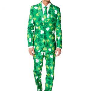 Men's SuitMeister St. Patrick's Day Clovers Suit