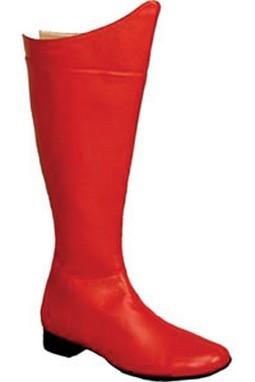 Men's Super Hero Boots - Red