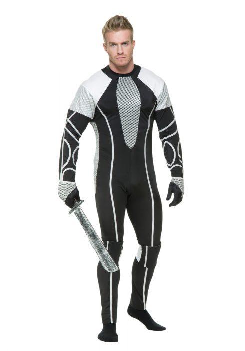 Mens Survivor Jumpsuit Costume