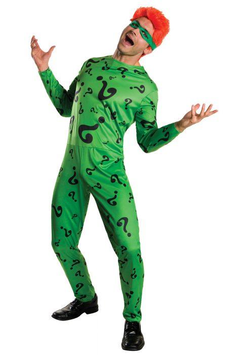Men's The Riddler Costume