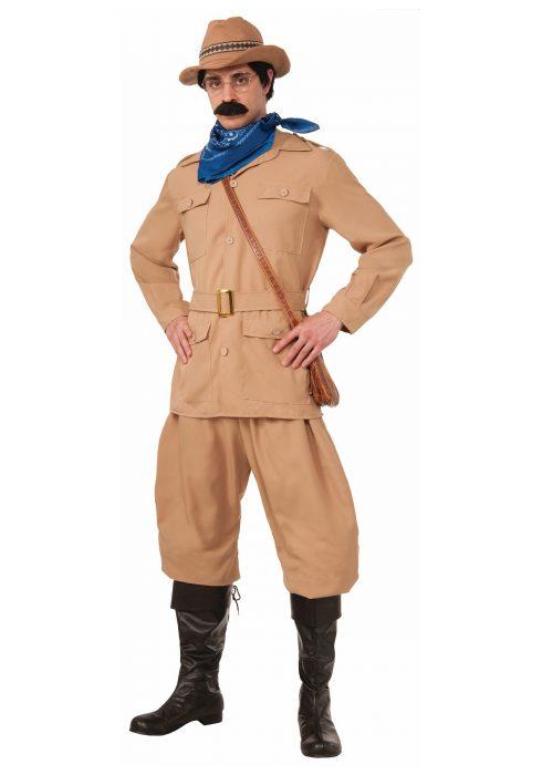 Men's Theodore Roosevelt Costume