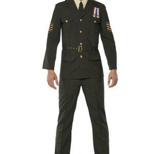 Mens Wartime Officer Costume