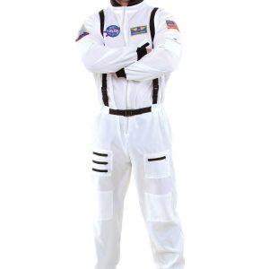 Men's White Astronaut Costume
