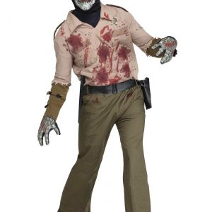 Mens Zombie Sheriff Costume