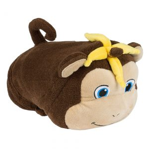 Milo the Monkey Comfy Critter Blanket