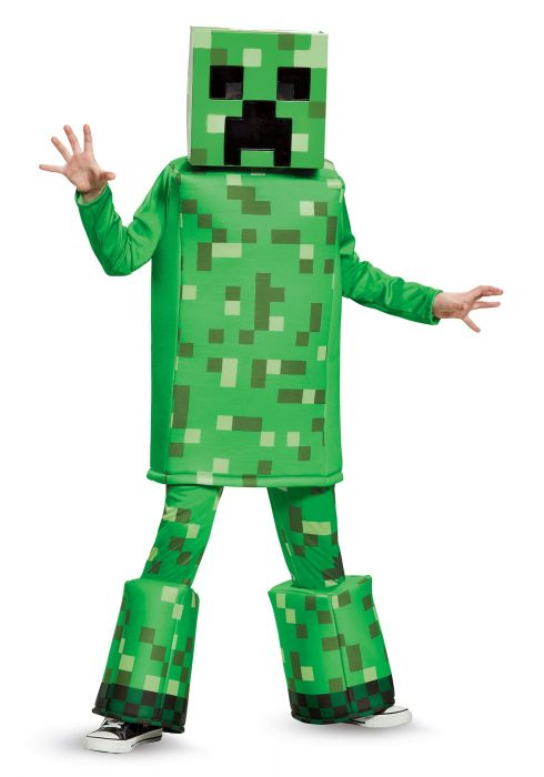 Minecraft Creeper Prestige Boys Costume