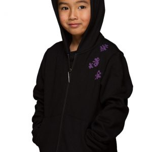 Minecraft Enderman Zip-Up Youth Hoodie
