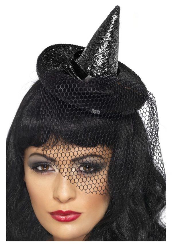 Mini Glitter Witch Hat