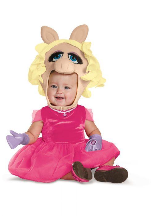 Miss Piggy Infant Costume