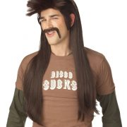 Mississippi Mud Flap Wig and Mustache