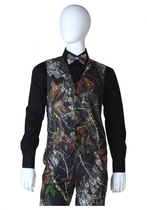 Mossy Oak Open Back Vest
