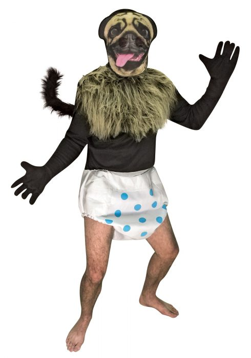 Mountain Dew's Puppy Monkey Baby Costume