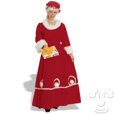 Mrs. Santa Costume - Velvet