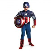 Muscle Chest Child Captain America Costume