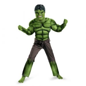 Muscle Chest Child Hulk Costume