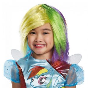 My Little Pony Kids Rainbow Dash Wig