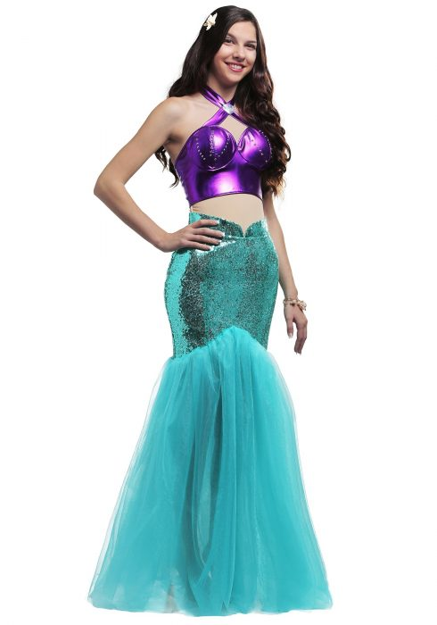 Mystical Mermaid Plus Size Womens Costume