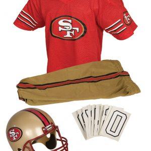 NFL 49ers Uniform Costume