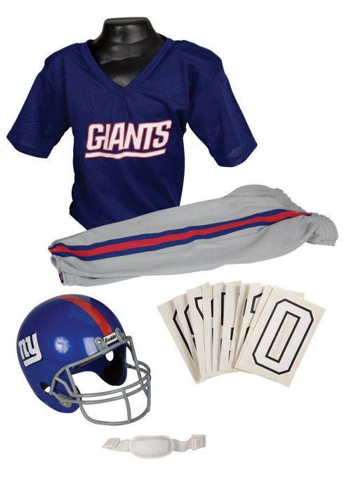 NFL Giants Uniform Costume