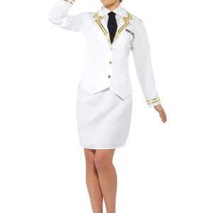Naval Officer Plus Size Womens Costume