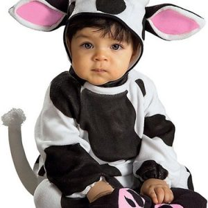 Newborn Cozy Cow Costume