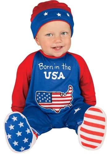 Newborn Pint Size Patriot Costume